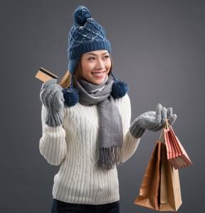 Winter shopping